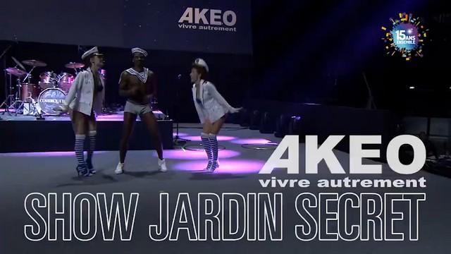 Akeo espace presse vid os et evenements for Akeo jardin secret 2015