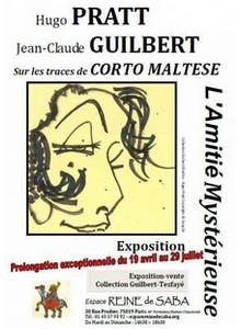 Amitié mystérieuse : Hugo Pratt – Jean-Claude Guilbert… sur les traces de Corto Maltese