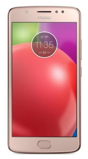 Motorola Moto E4 Rose Or