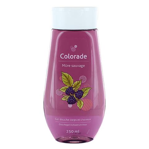 Gel douche corps & cheveux Colorade 250 ml - Mûre sauvage - DE4401