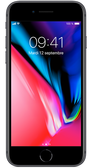 Apple iPhone 8 Plus 64 Go Gris Sidéral