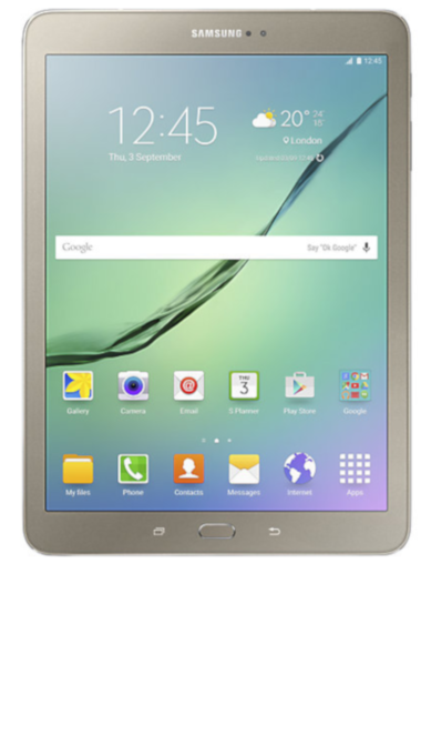 "Samsung Galaxy Tab S2 9,7"" 4G 32 Go Or"