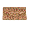 Mini Pochette Wave - Beige/rouge - JU8029