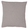 Housse de coussin stonewashed BEELY 45x45 - Silex - LF2019
