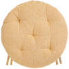 Galette de chaise ronde BASAL - Tournesol - LF3066