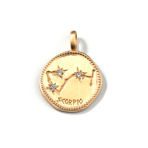 Médaille Constellation - Scorpion - BF2507