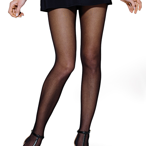 Collants DOUCEUR - lot de 2 paires - Noir - T2 - JS9114