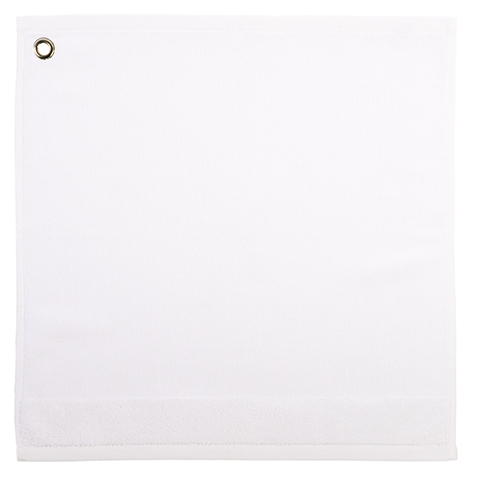 Essuie mains oeillet COLOR - Blanc - LF3012